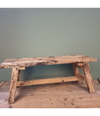 # A192 - sloophouten salontafel - 120 x 39 x 47 cm