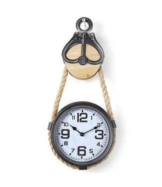 # J088 - Klok - Clock Parker S grey - L23B5H53CM