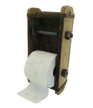 # Old stone mold toiletpaper holder - 30 x 18 cm