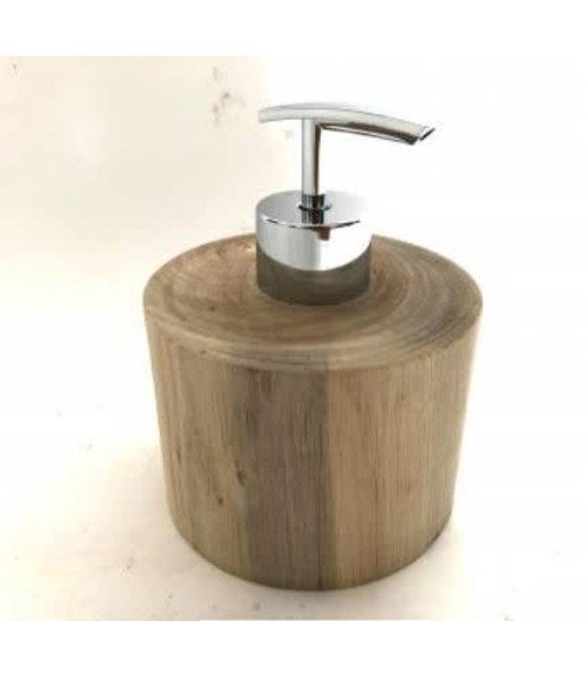 # Soapdispenser - hout - 9 x 15 cm