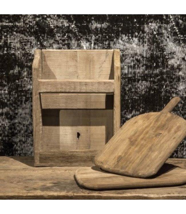 Set 2 brood kaas planken in houder - 33 x 10 x 44 cm