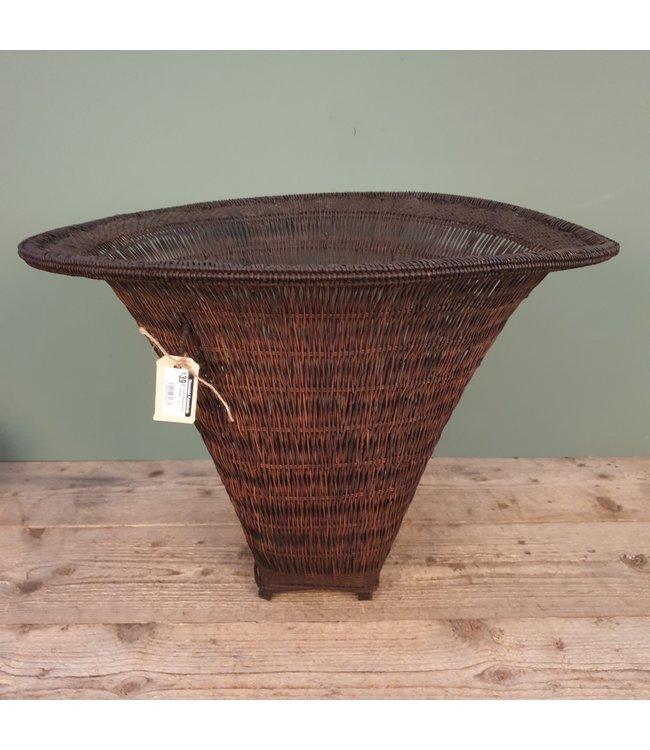 # Oude theeplukmand - bamboe - 6 - 60 x 53 x 43 cm