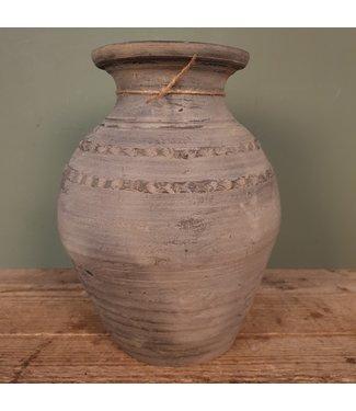 # Claypot Nepal - aardewerk - 1 - 24 x 24 x 32 cm