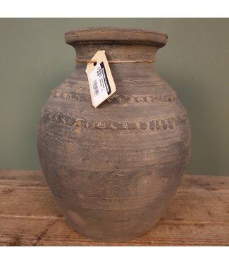 # Claypot Nepal - aardewerk - 2 - 22 x 22 x 30 cm