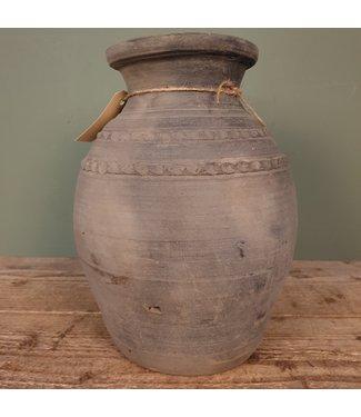 # Claypot Nepal - aardewerk - 4 - 22 x 22 x 32 cm