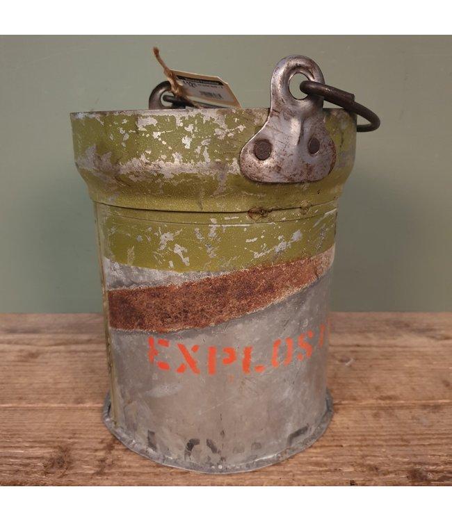 # Iron bucket bomb - 9 - 21 x 20 x 26 cm