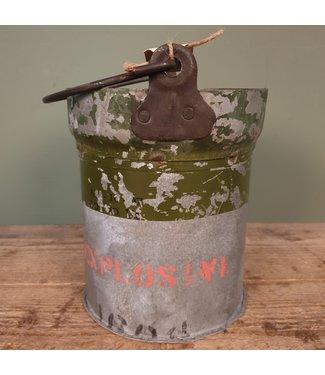 # Iron bucket bomb - 10 - 22 x 20 x 25 cm