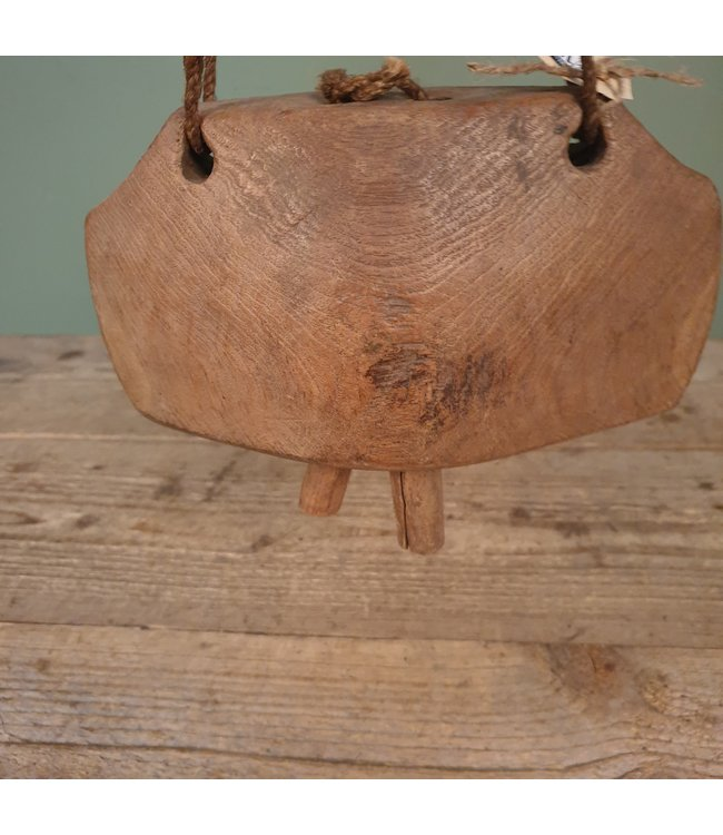 # Houten koebel - 2 - 22 x 9 x 13 cm