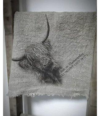 # E787- Doek Shabby Hooglander - 45 x 45 cm
