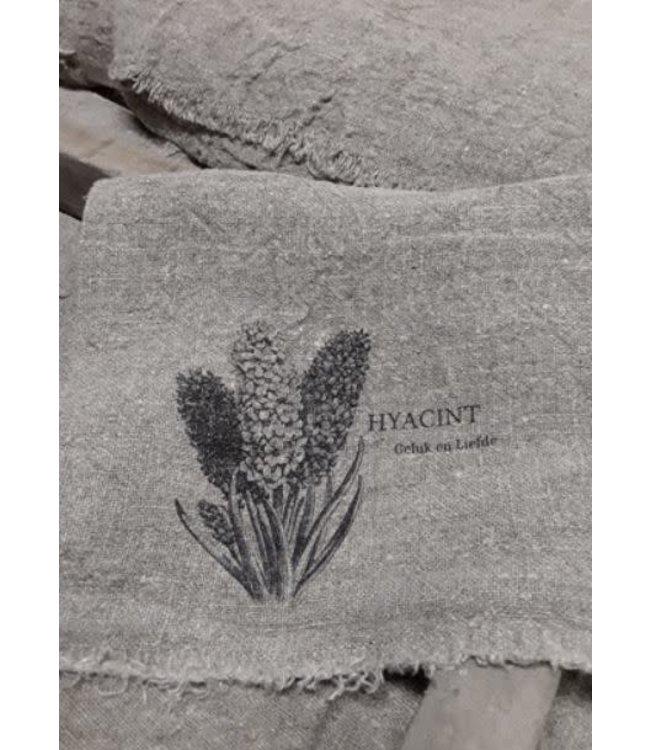 # E803- Doek Shabby hyacint - 30 x 45 cm
