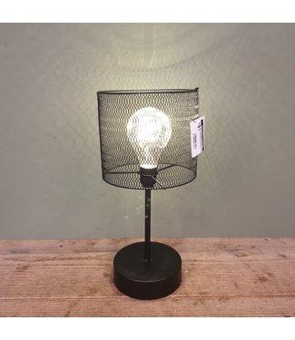 Tafellamp Led Bertram zwart - 15 x 15 x 33,5 cm