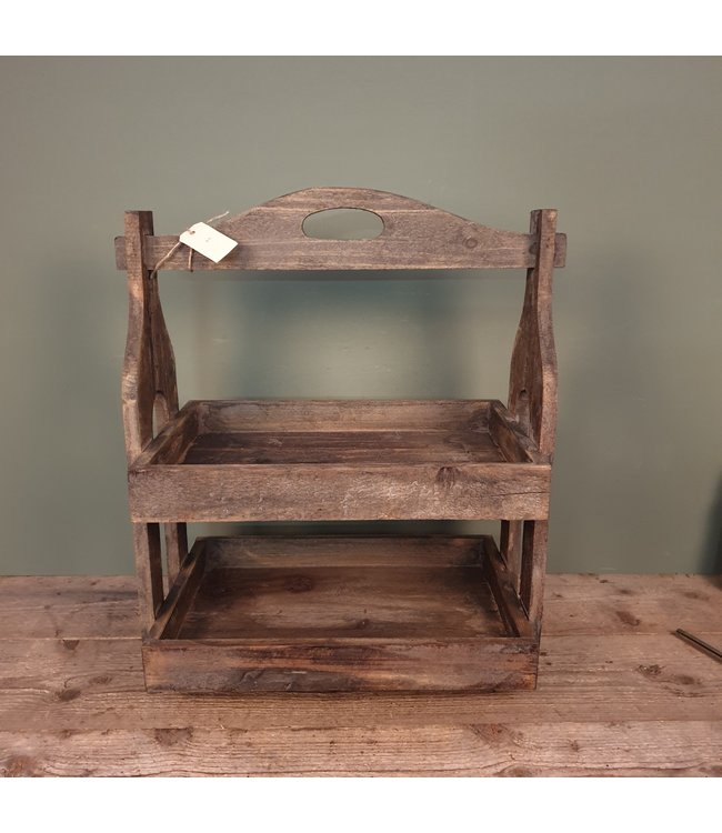 # Lyon Caddy - Etagere - hout - 2lgs 50 x 31 x 65 cm