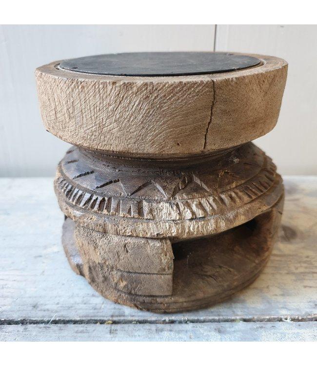 Candleholder Bijni - 5 - 12 x 12 x 10,5 cm