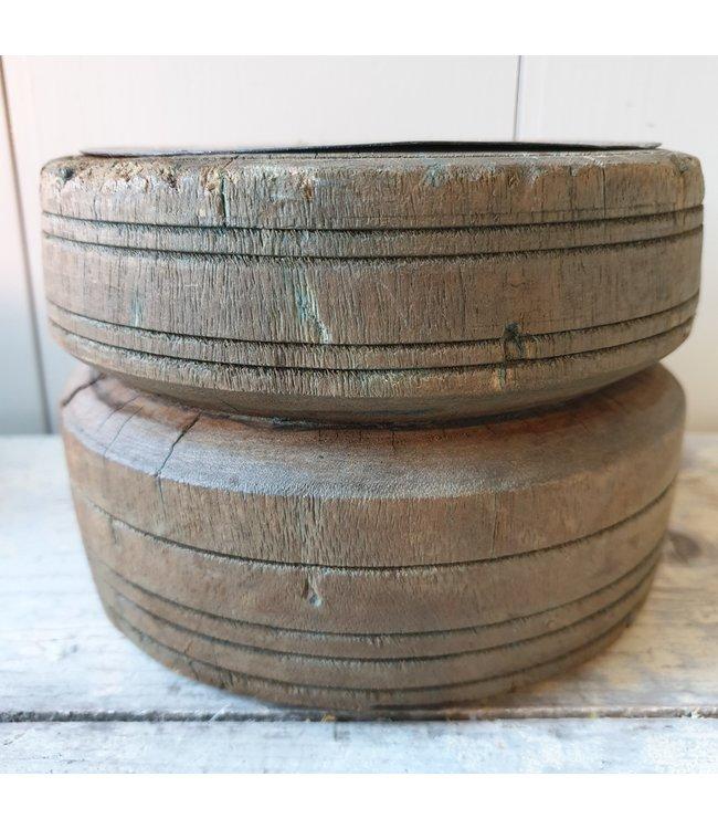 Candleholder Bijni - 6 - 16 x 16 x 11 cm