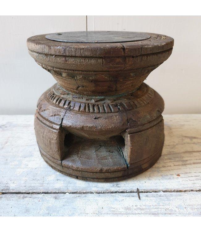 Candleholder Bijni - 12 - 13,5 x 13,5 x 12 cm