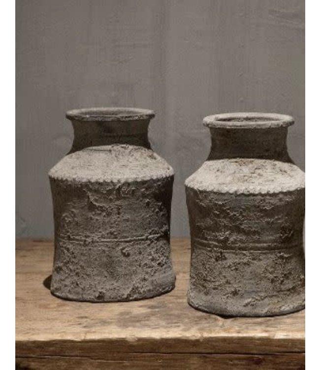 # Nepal Pottery | Veda - aardewerk - per stuk - 17 x 17 x 25 cm