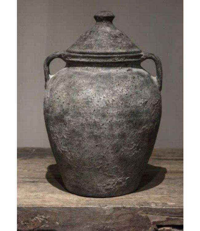 # nepal pottery - patan - 27 x 27 x 37 cm