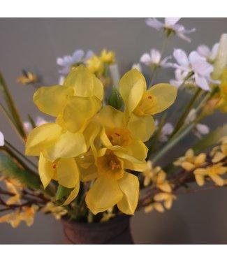 NT!!!!! - J569 - narcis - kunst - Single Daffodil 44cm