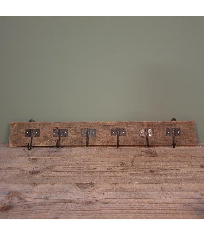 # Railwaywood kapstok - 75 x 2 x 11 cm