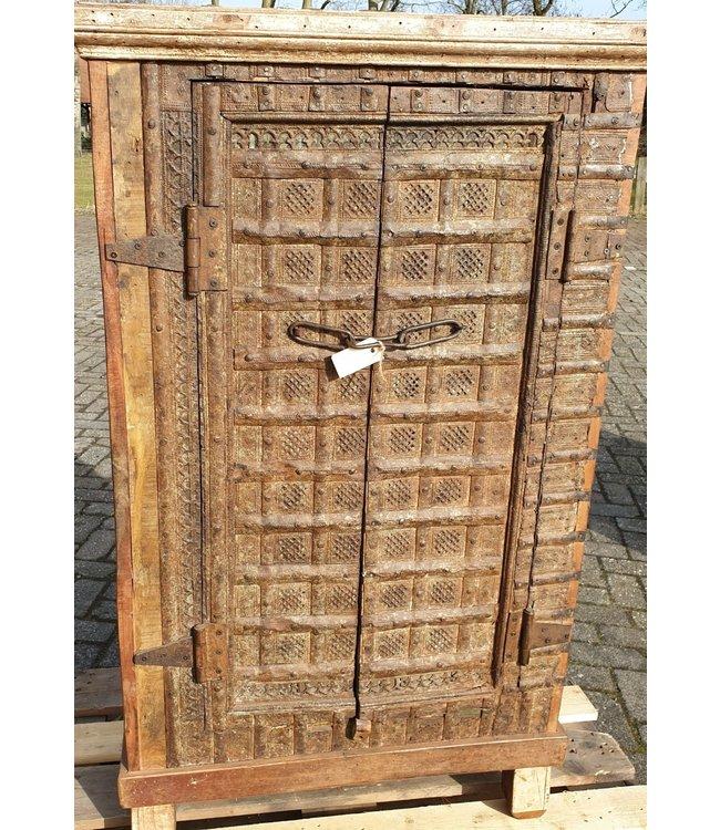 Raja old almirah kast - 1 - 80 x 35 x 132 cm - wordt niet verzonden/alleen afhalen