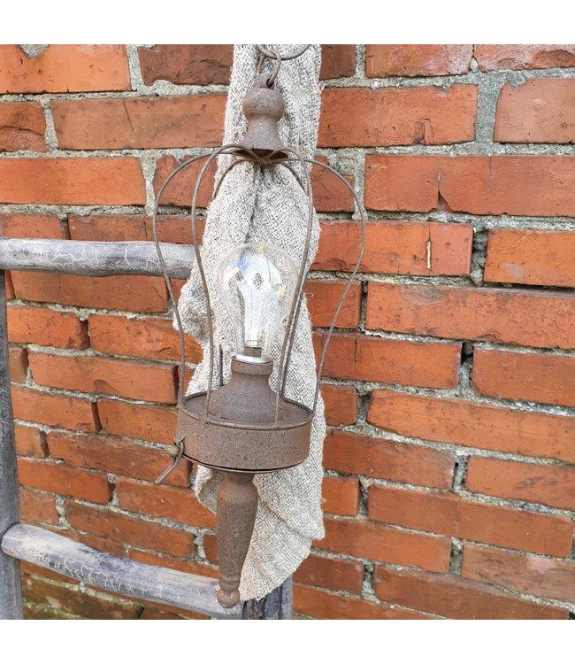 # Hanglamp LED timer Kick roest - L15B15H41CM