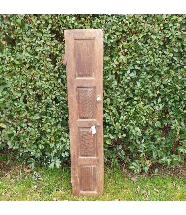 # J693 - houten luik - 138 x 28 x 3 cm - wordt niet verzonden/alleen afhalen