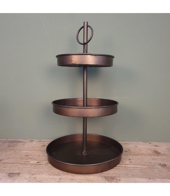 ## C126 - Metal Etagierre - 36 x 36 x 63 cm