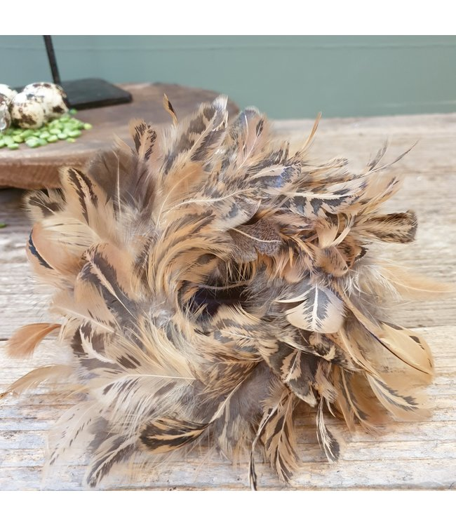 # wreath feathers - 9 x 9  cm