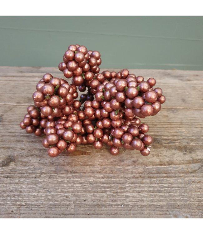 # q673 - besjes 25 cm copper - 26 x 16 x 10 cm