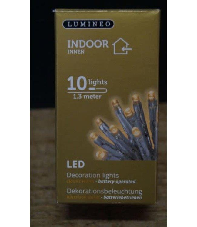 ## D123 - Binnenverlichting - 10 lampjes - 1,3 meter - op batterij