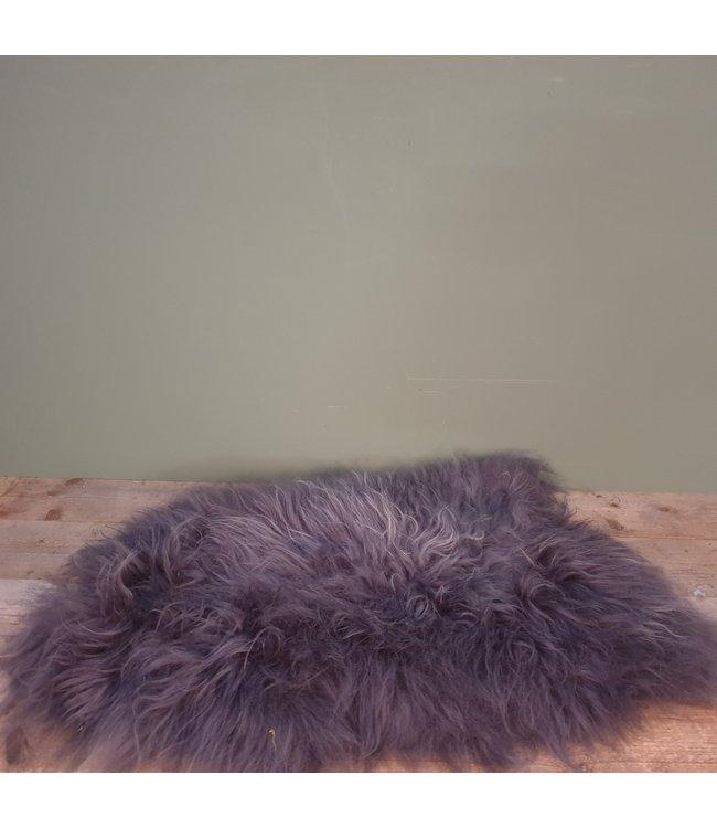 # ijslandse schapenvacht l - grijs - 1 - 100 x 73 x 5