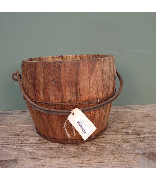 # J399 - houten plukemmer - 37 x 30 x 26 cm