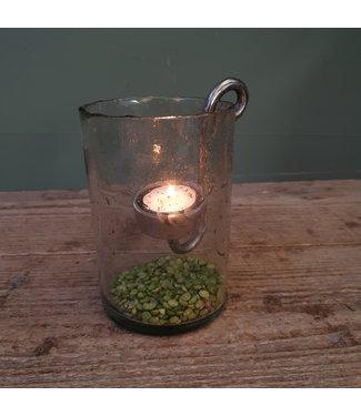 # Lara cil.vase stones clear 10H15