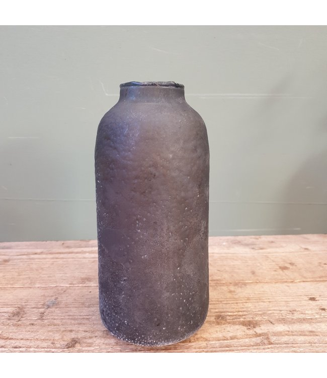 # Lara vase big tonic grey 12x25 cm
