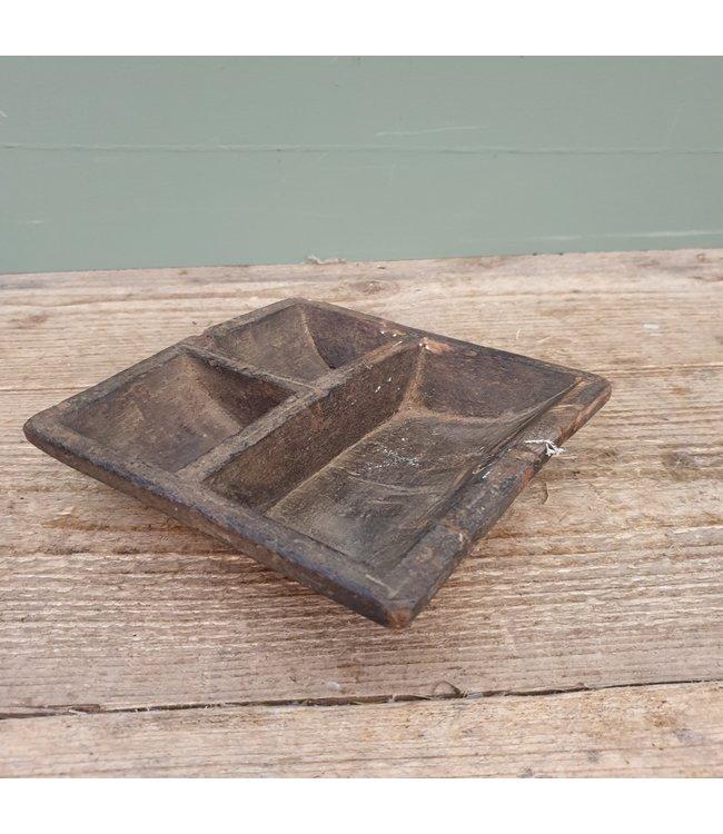 # Houten kruidenbakje - 39 - 15 x 15 x 4 cm