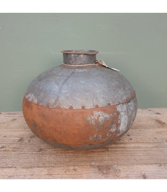 # Nagouri pot old iron -- 5 - 30 x 30 x 30 cm