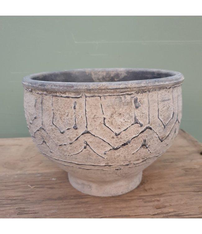 # Nepal Pottery | Daya | Small - per stuk - 21 x 21 x 16 cm
