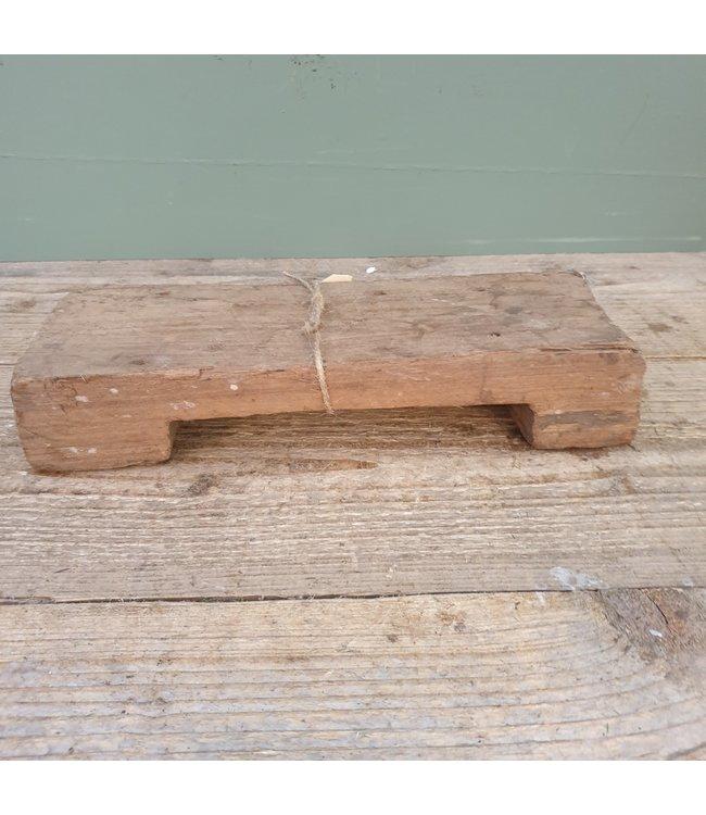 # Houten Bajot - S - 15 - 29 x 10,5 x 5,5 cm