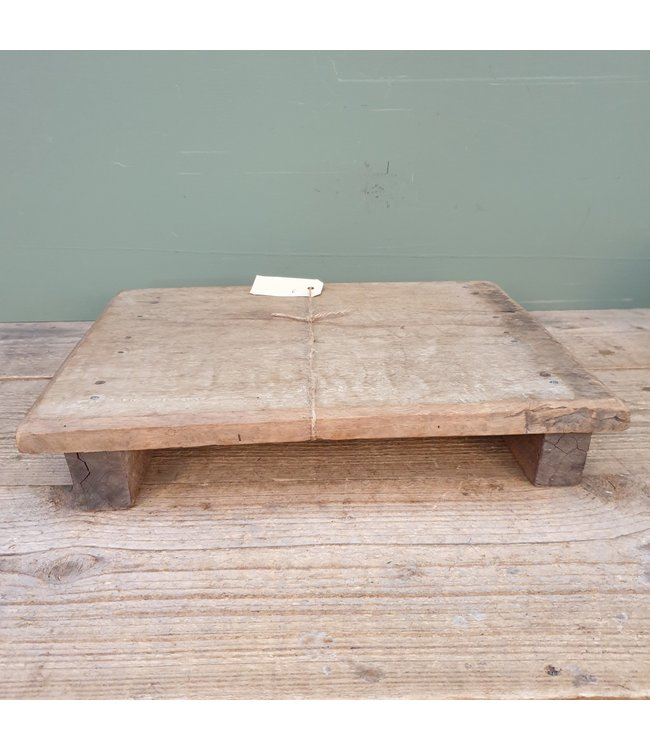# Houten bajot - M - 7 - 39,5 x 30,5 x 6,5 cm
