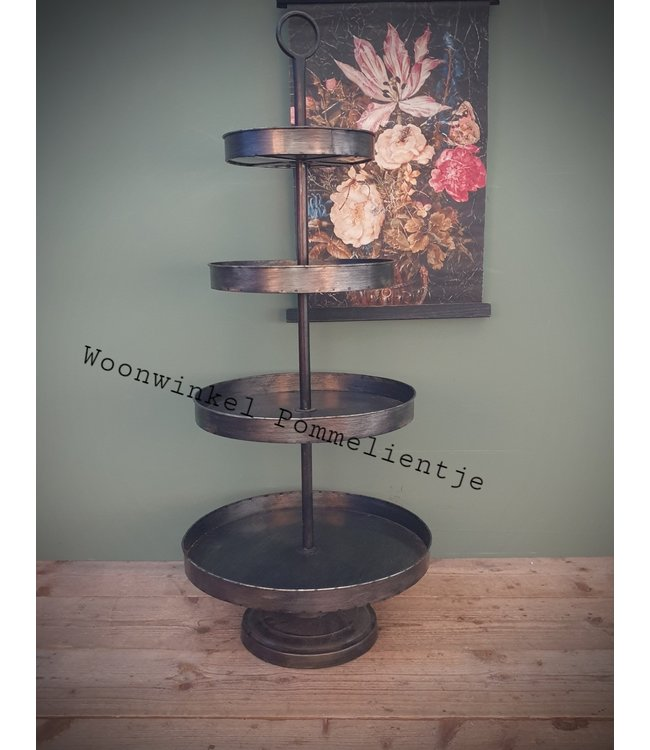 # B200 - Etagere Dela drijs - 46 x 46 x 112 cm