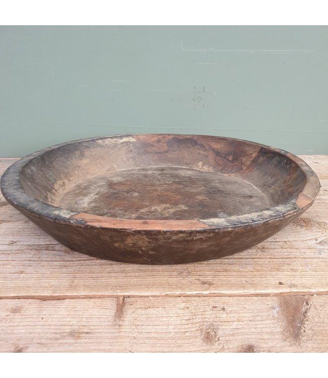 # Ronde houten schaal - 63 - 50 x 50 x 8,5 cm
