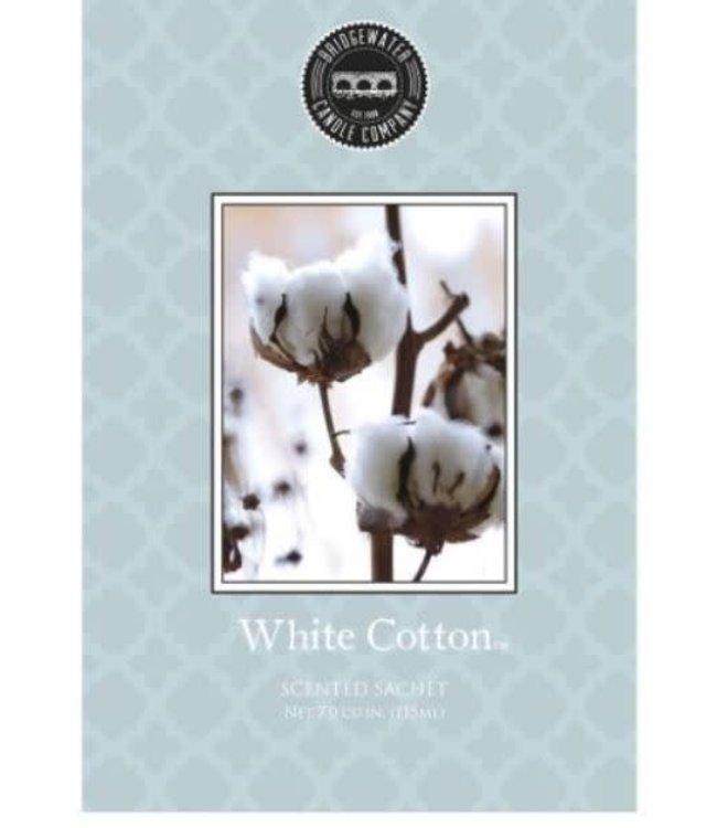 # Q693 - Bridgewater - geurzak - White Cotton- 11,5 x 17 cm