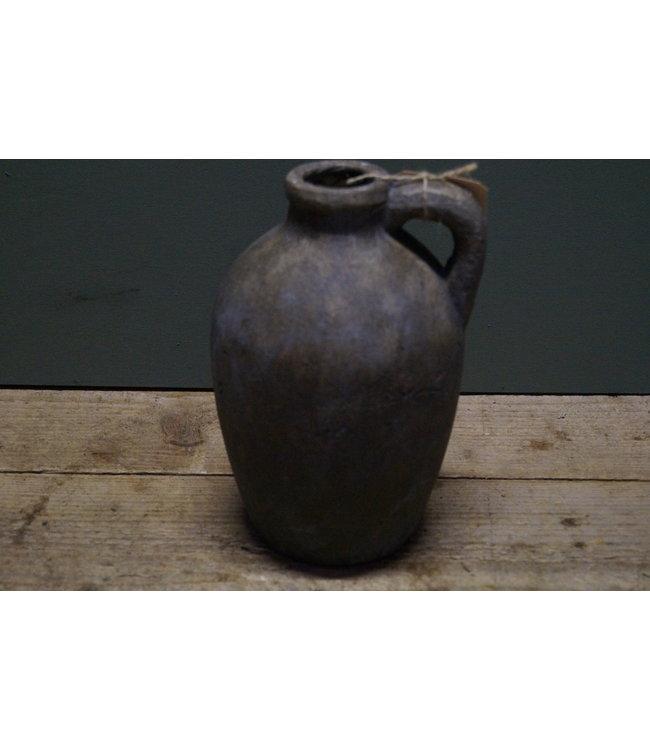 # kruik ro bertus M grijs - 15 x 14 x 21,5 cm