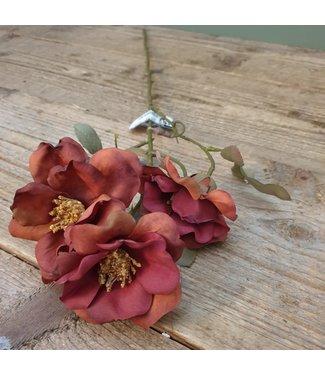 # rosa rood - kunst - 16 x 16 x 63 cm
