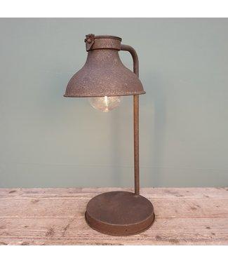 # Tafellamp Cowen roest - L22B17H44CM
