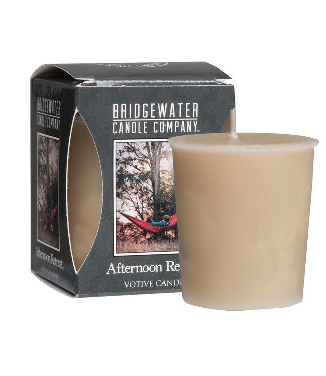 # G480 - Bridgewater - Geurkaars - Afternoon Retreat - 5x5x6 - 4,5 x 5 cm