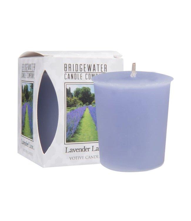 # E055 - Bridgewater - Geurkaars - Lavender Lane - 5x5x6 - 4,5 x 5 cm