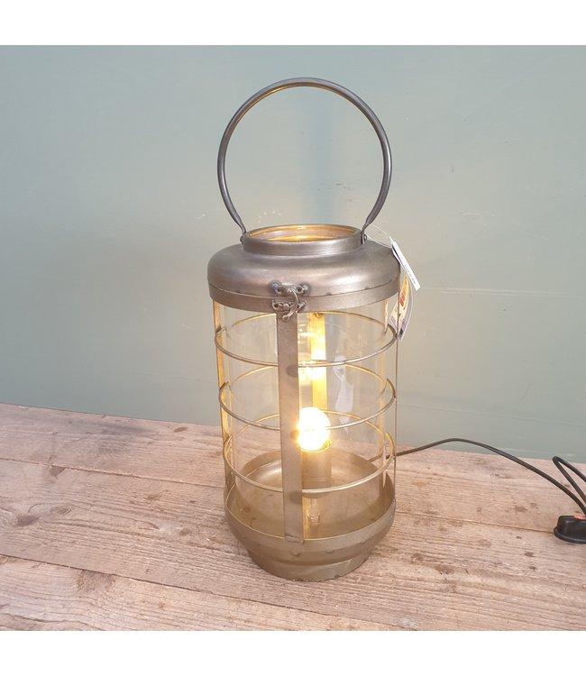 # lamp ro bertold grijs E27 x 1 40 w - 26 x 21 x 40 cm