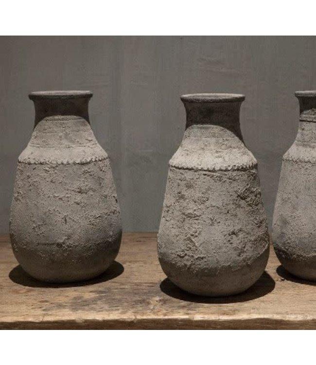 # Nepal Pottery   Amber - aardewerk - per stuk - 20 x 20 x 34 cm
