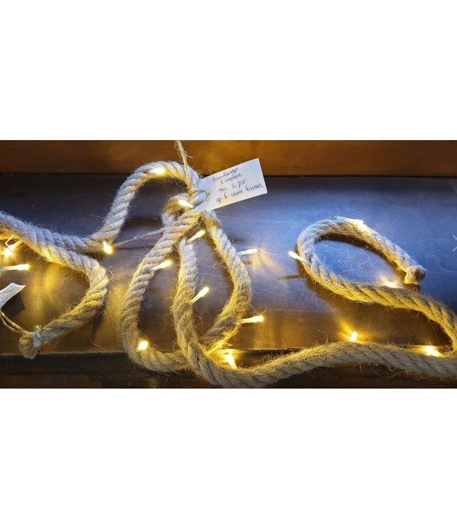 ## I667 - Robuust touw met verlichting - 1,9meter - 20 lamps